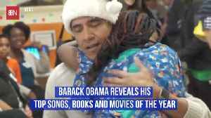 What Does Obama Like To Read And Watch [Video]