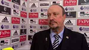 Benitez: Happy with work-rate [Video]