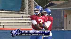 UK QB on mixing business with pleasure at Citrus Bowl [Video]