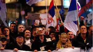 Thousands Protest Against Serbian President [Video]