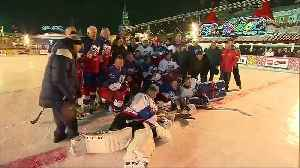 Putin scores five times in ice hockey match on Red Square [Video]