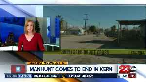 A look at the Kern County arrest of a suspected officer-killer [Video]