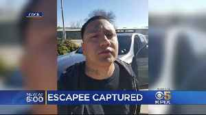 San Quentin Escapee Captured At Taco Bell In Paso Robles. [Video]