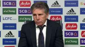 Puel wants Leicester response at Everton [Video]