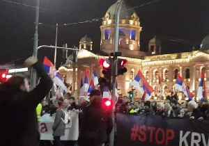 Thousands March in Belgrade for Fourth Week in a Row [Video]