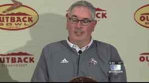 Outback Bowl coaches press conference [Video]
