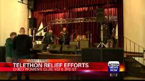 Chico Women's Club Hosts Telethon for Music Relief [Video]