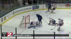 COMETS DEFEAT AMERICANS [Video]