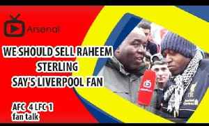 We Should Sell Raheem Sterling say's Liverpool Fan | Arsenal 4 Liverpool 1 [Video]