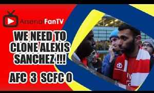 We Need To Clone Alexis Sanchez !!! - Arsenal 3 Stoke City 0 [Video]