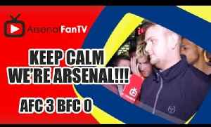 Keep Calm We're Arsenal !!! Arsenal 3 Burnley 0 [Video]