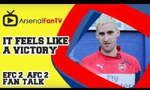 It feels like a Victory - Everton 2 Arsenal 2 [Video]