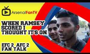 When Ramsey scored I thought it's on - Everton 2 Arsenal 2 [Video]