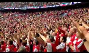 FA Cup Fans Chanting inside Wembley [Video]