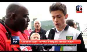 Arsenal 2 Norwich City 0 - You Played Us Off The Park (Norwich View) [Video]