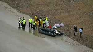 Boat found on Kent beach amid Channel crossing crisis talks [Video]