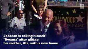 Dwayne 'The Rock' Johnson Buys His Mom a House for Christmas [Video]