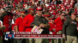 Tampa Bay Buccaneers fire head coach Dirk Koetter [Video]