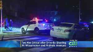 2 Men Critical After Drive-By Shooting In Germantown [Video]
