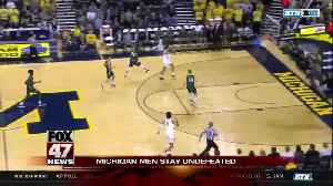 No. 2 Michigan pulls away for win over Binghamton [Video]
