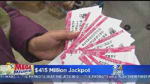 Mega Millions Jackpot Up To $415M Heading Into New Year [Video]