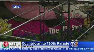 Final Countdown For Rose Parade Floats [Video]