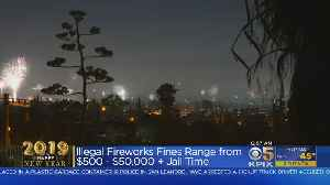 San Jose Cracking Down On Illegal Fireworks During New Year's 2019 Celebrations [Video]