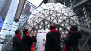 Testing the Times Square crystal ball [Video]