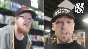 News video: Man claims he was kicked out of vape shop for wearing 'MAGA' hat