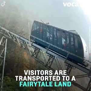 Yellow Mountain's Fairytale Train Ride Will Take Your Breath Away [Video]