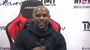 Mayweather blitzes Tenshin in Japanese boxing exhibition [Video]