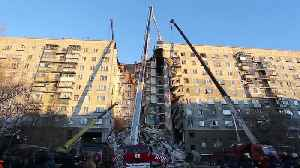 Russian Apartment Building Gas Blast, 7 Dead 40 Trapped [Video]