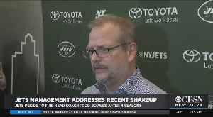 Jets Management Addresses Recent Shakeup [Video]