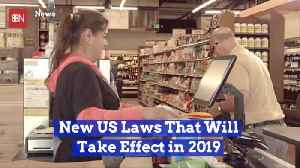 A New Year Comes With Many More New Laws [Video]