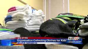 Non-profit Organization Collecting Clothes for Kids [Video]