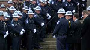 Lafayette Police Officers remember the life of Officer Bill Meluch [Video]