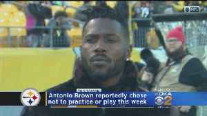 News video: Report: Disagreement With Teammate Led To Steelers WR Antonio Brown Missing Bengals Game