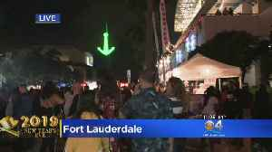 New Year's Eve Party In Fort Lauderdale Drops Anchor On 2019 [Video]
