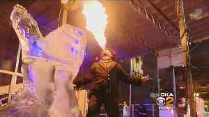 First Night Pittsburgh Heats Up With Fire & Ice Show [Video]