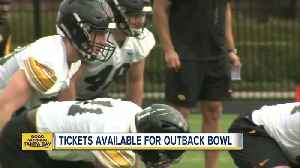 Back in Outback Bowl, Iowa is underdog vs Mississippi State [Video]
