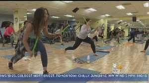 Drum Sticks Help Pound Away Holiday Weight Gain In New Fitness Class [Video]