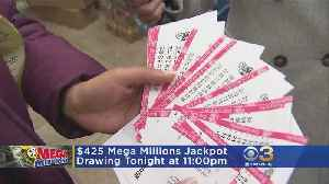 News video: $425 Million New Year's Day Jackpot Is Eighth Largest In Mega Millions History