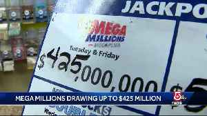 Mega Millions drawing almost half a billion dollars [Video]