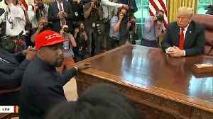 'Trump All Day': Kanye West Praises Trump In First 2019 Tweets [Video]