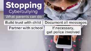 What parents can do to help stop cyberbullying [Video]