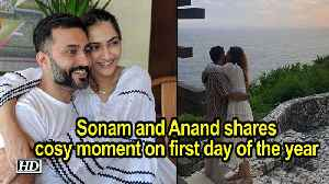 Sonam and Anand shares cosy moment on first day of the year [Video]