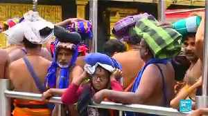 India: Two women under 50 enter Sabarimala Temple, sparking outcry of conservative Hindu groups [Video]