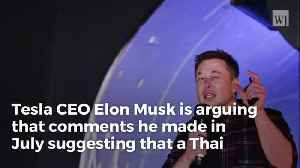 Elon Musk Claims Calling British Diver a 'Pedo' Is Protected by the Constitution [Video]