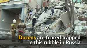Dozens trapped under rubble in Russia after gas blast [Video]