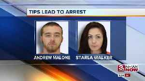 Two arrested on felony charges after shoplifting incident [Video]